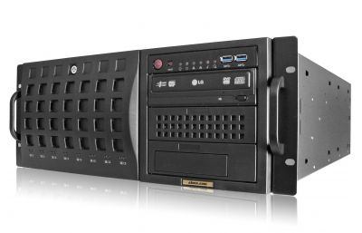 4U Rack Server - 8 Hot-Swap Bays - Redundant Power-front