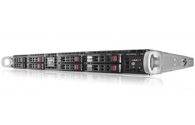 1U Twin Server (2-in-1 Server) - Dual Xeon Per Node - Flash Storage-front