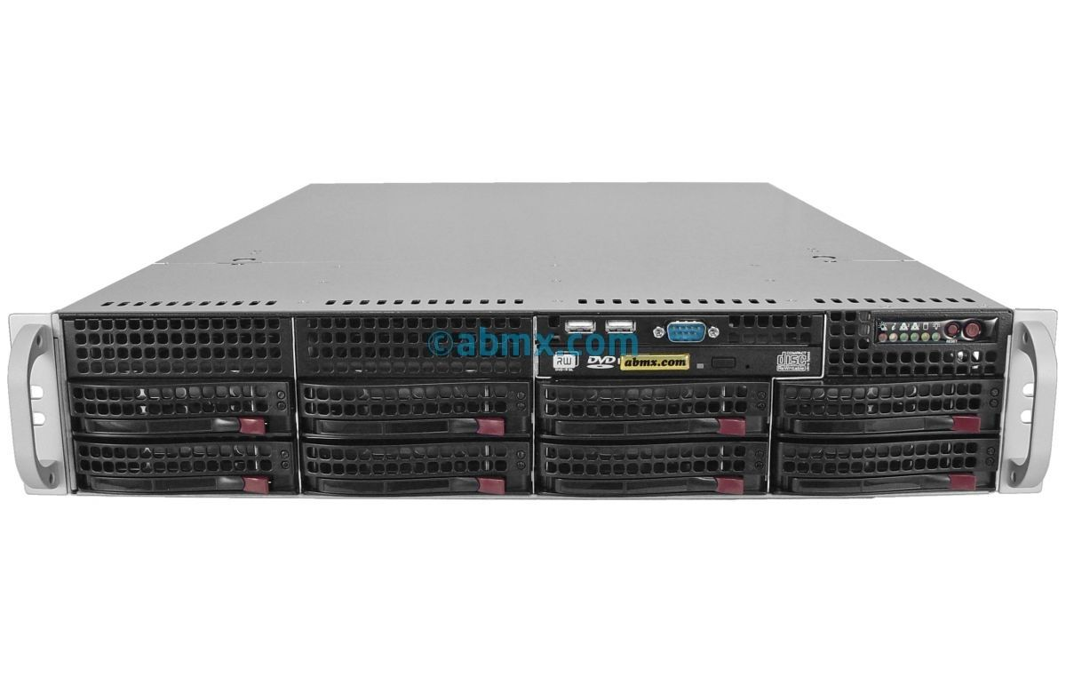 2U Rack Server - 8 Hot-Swap Bays-2
