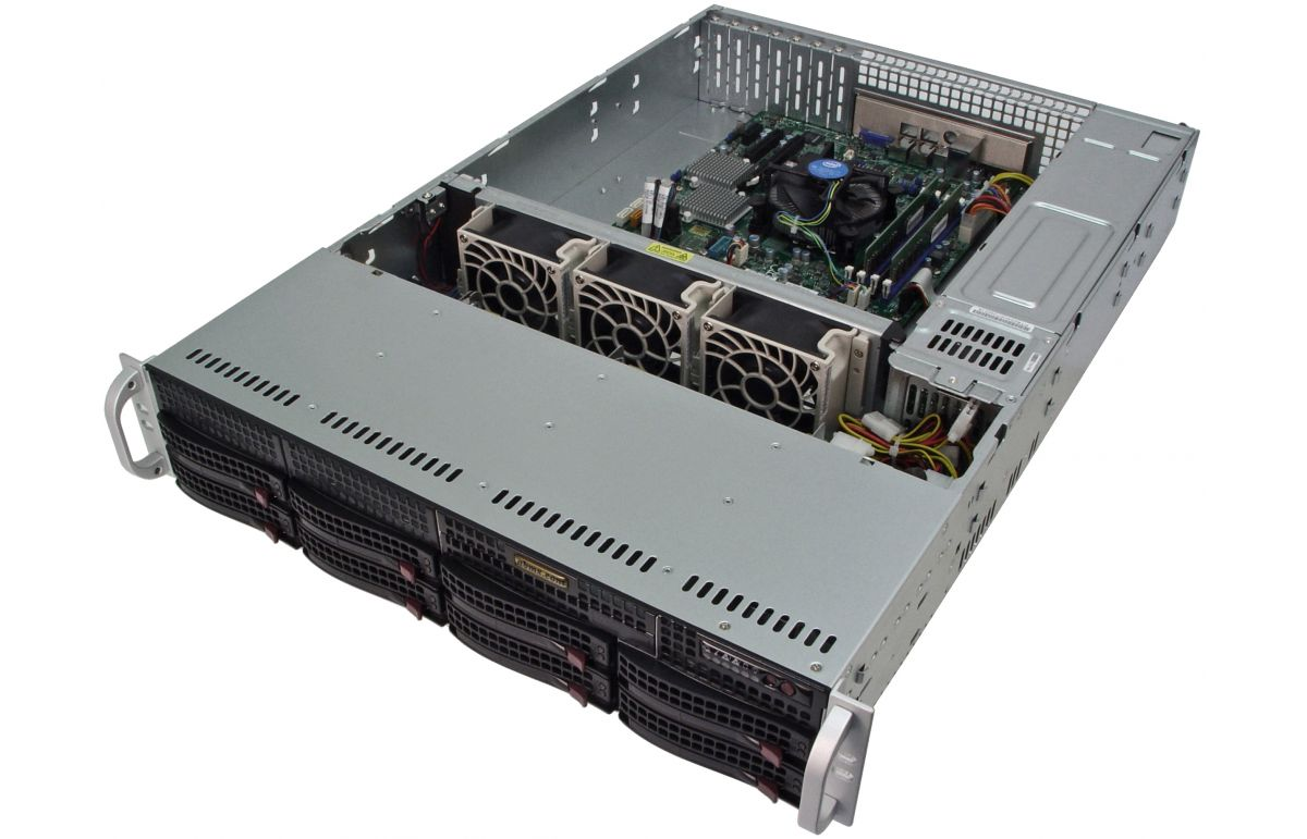 2U Rack Server - 8 Hot-Swap Bays-5