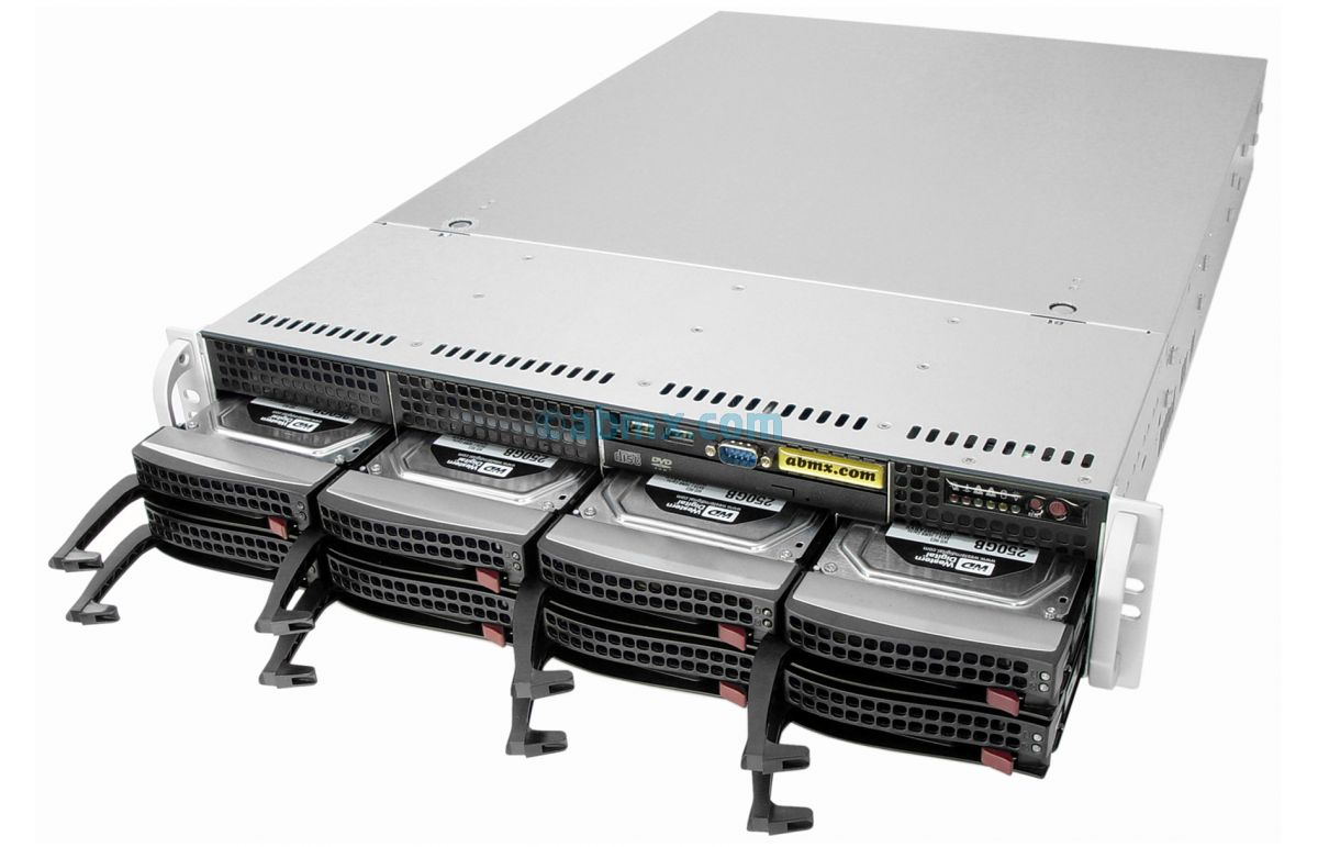 2U Rack Server - 8 Hot-Swap Bays-8