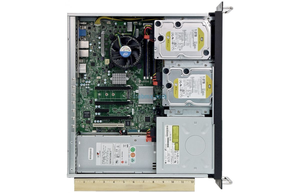 3U Short Depth Server - Up to 4 Fixed Bays - 3 PCI-E 3.0 x16 slots-7