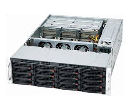 Performance iSCSI SAN Server - 128TB-front