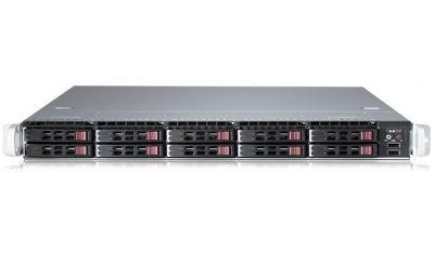 1U Virtualization Server - 10 Hot-swap Bays, 2 NVMe-front