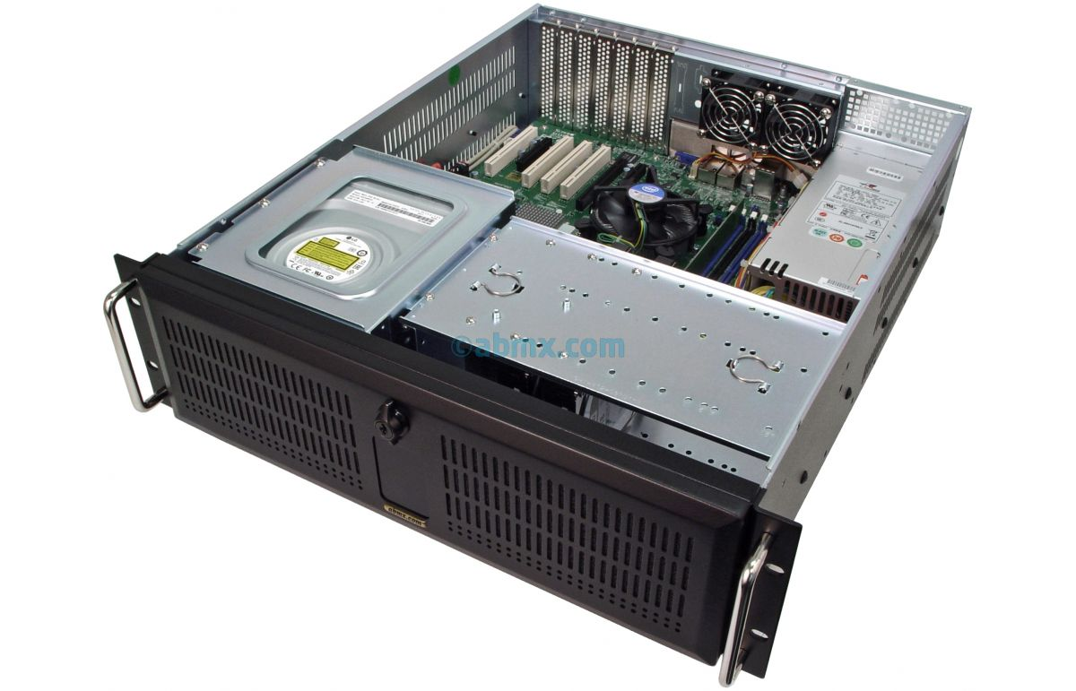 3U Rack Server - 4 PCI 5V 32-bit and 3 PCI-e slots-5