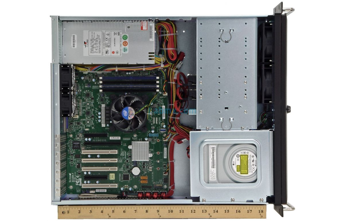 3U Rack Server - 4 PCI 5V 32-bit and 3 PCI-e slots-7