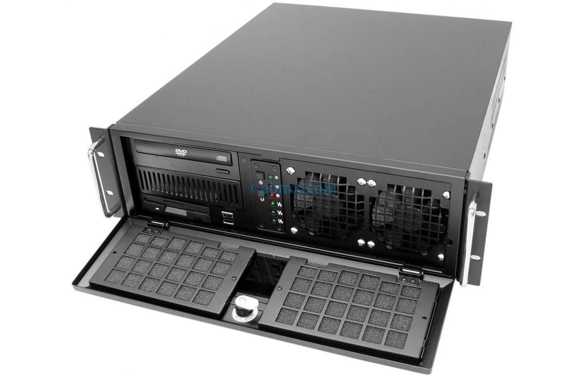 3U Rack Server - 4 PCI 5V 32-bit and 3 PCI-e slots-8