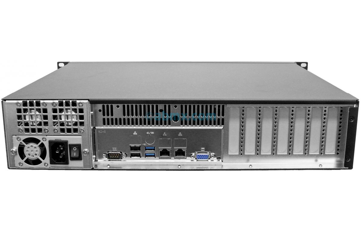2U Mini Server - 2 Fixed Bays-3