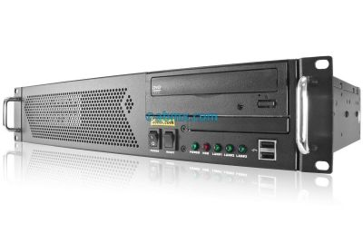 2U Mini Server - 2 Fixed Bays-front