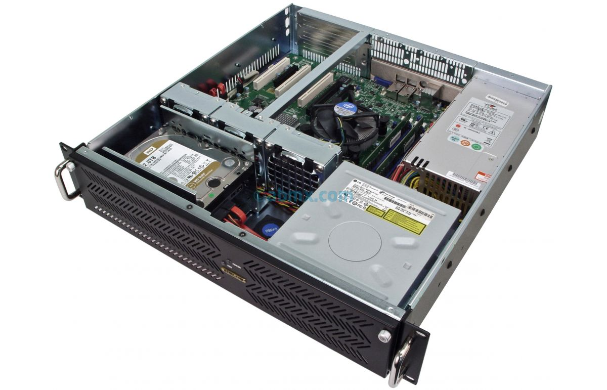 2U Mini Server - Up to 4 Fixed Bays-5