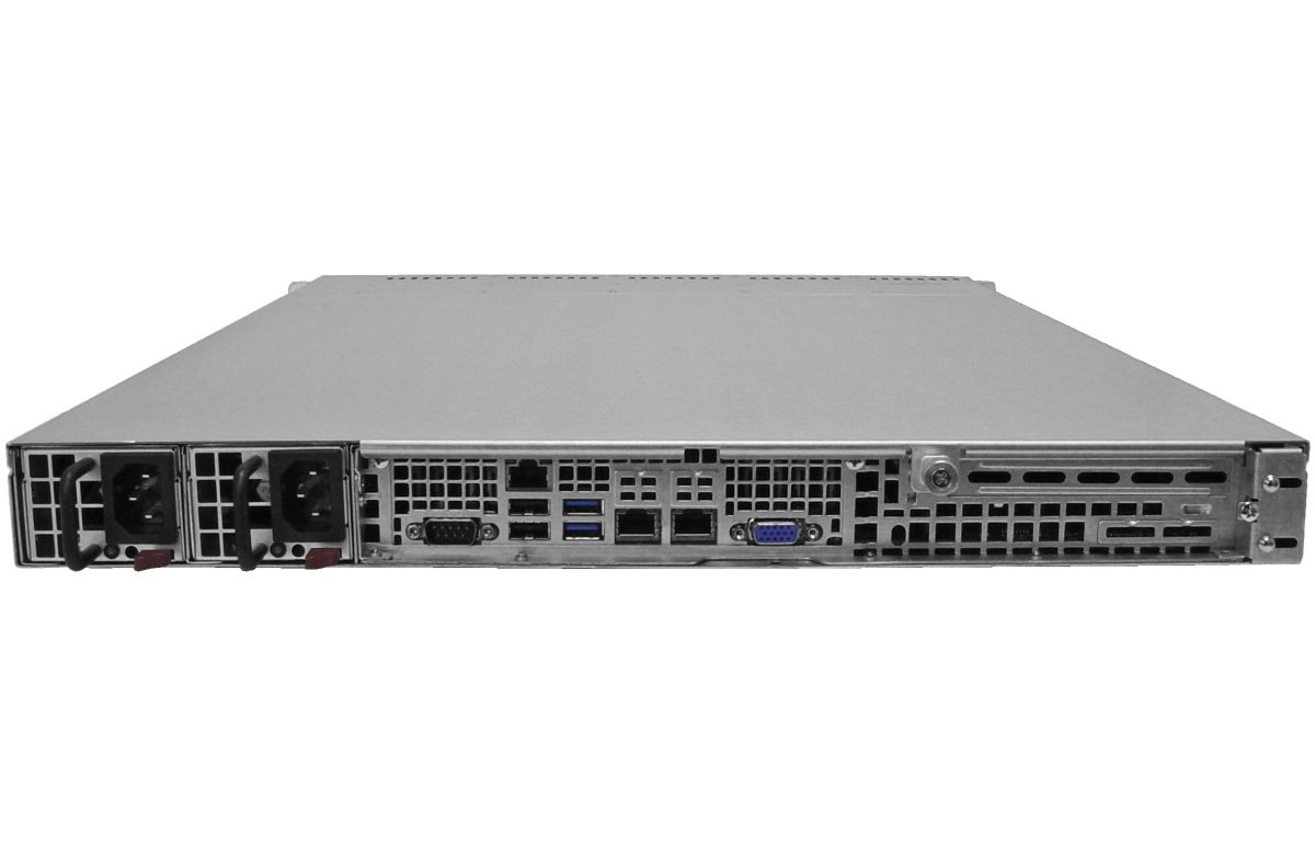 1U Rackmount Server - 10 Hot-Swap Bays - Redundant Power-3