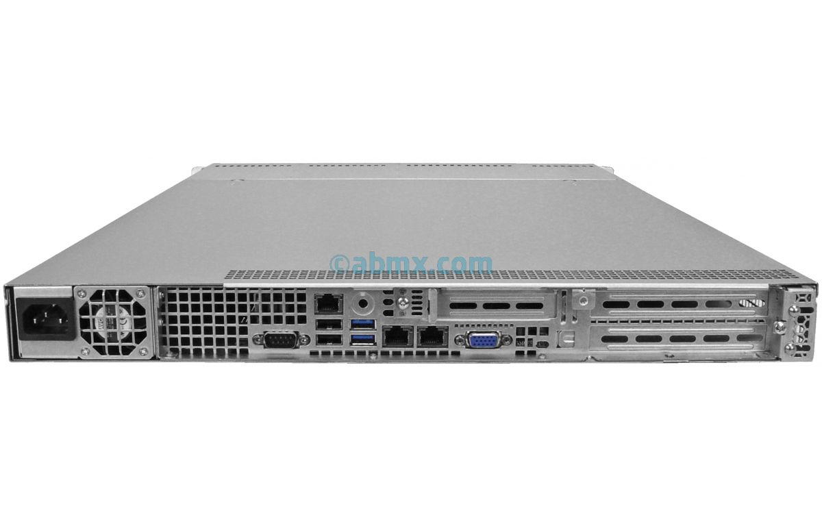 1U Rackmount Server - 4 Hot-Swap Bays - 2 Full-Height PCIe slots-3