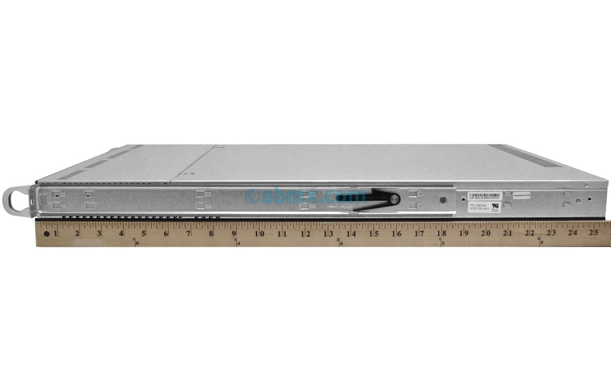 1U Rackmount Server - 4 Hot-Swap Bays - 2 Full-Height PCIe slots-4