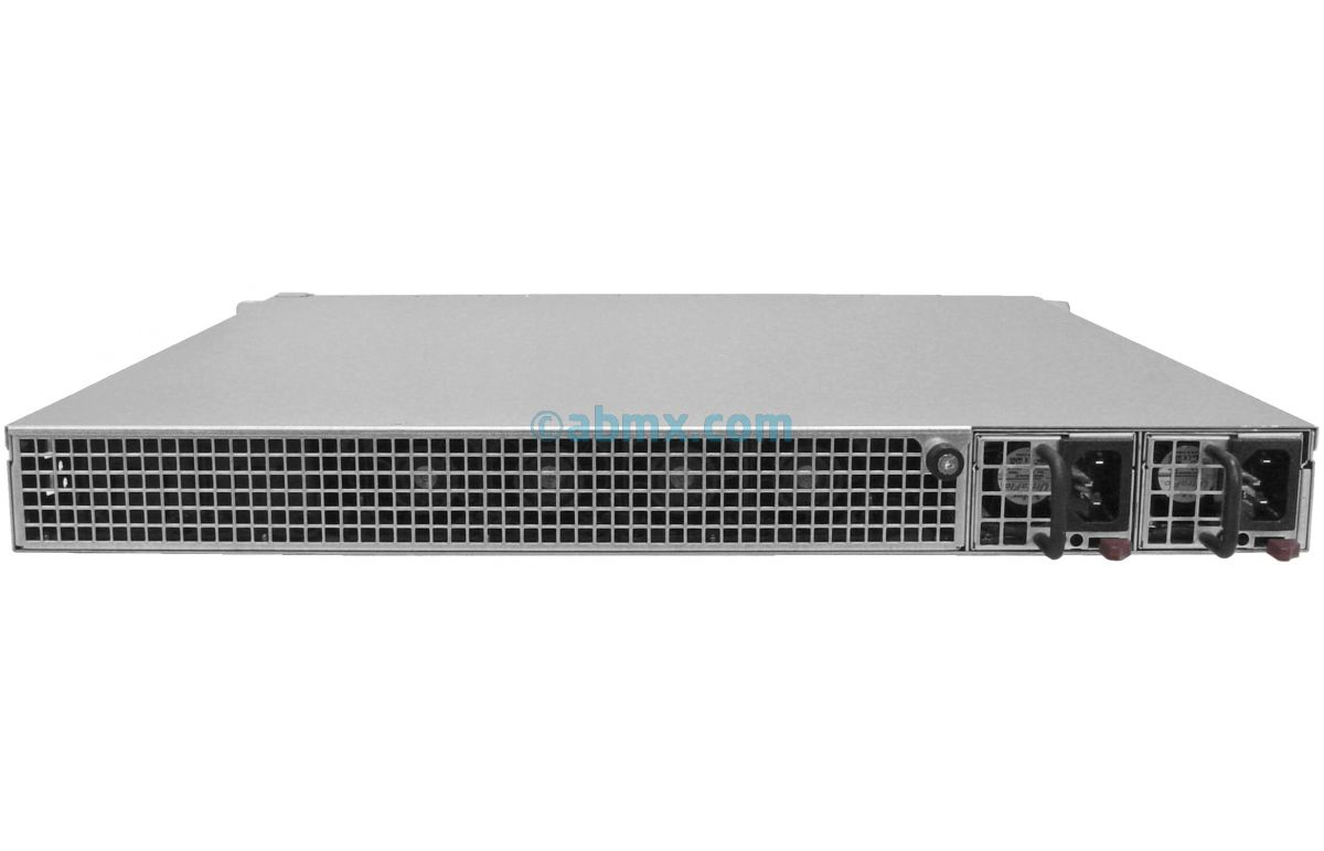 1U Short Depth Server - Front I/O - 2 Full-Height PCIe slots-3