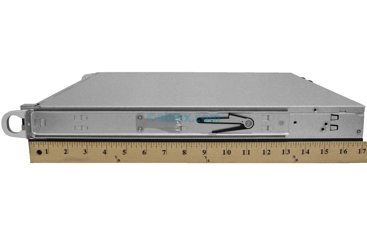 1U Short Depth Server - Front I/O - 2 Full-Height PCIe slots-4