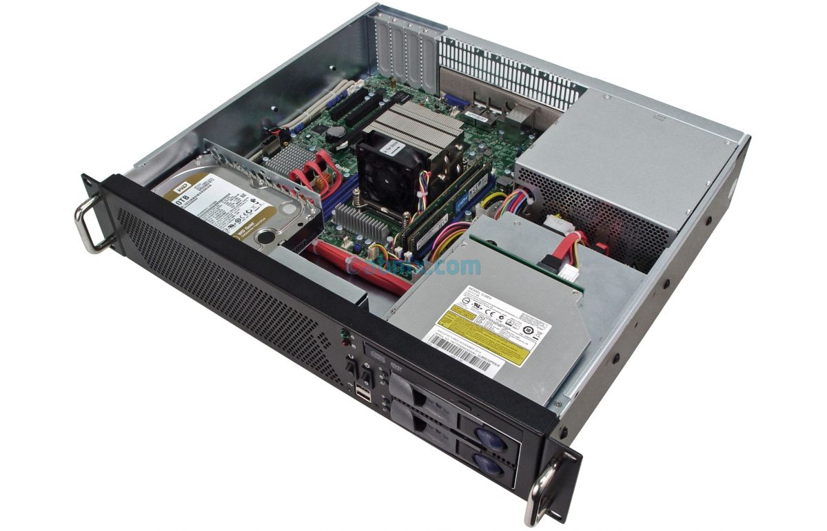 2U Mini Server - Xeon E5 - 2 Hot-swap Bays - 2 Fixed Bays-5