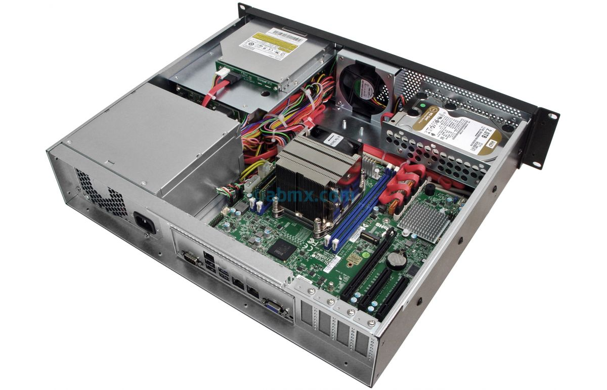 2U Mini Server - Xeon E5 - 2 Hot-swap Bays - 2 Fixed Bays-6