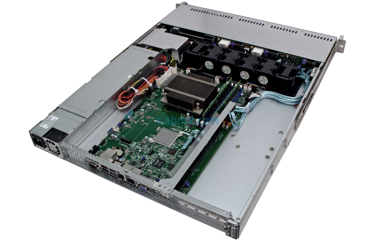1U Rackmount Server - 8 Hot-Swap Bays - 2 Full-Height PCIe slots-6