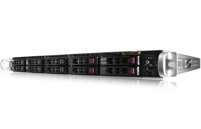 1U Rackmount Server - 10 Hot-Swap Bays - VMWare Certified-front