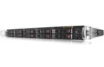 1U NVMe Server - 10 NVMe Hot-swap Bays - VMWare Certified-front