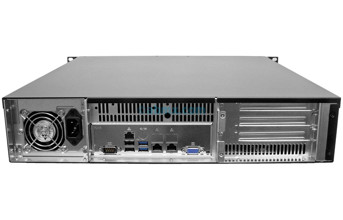 2U Mini Server - Up to 4 Fixed Bays-3