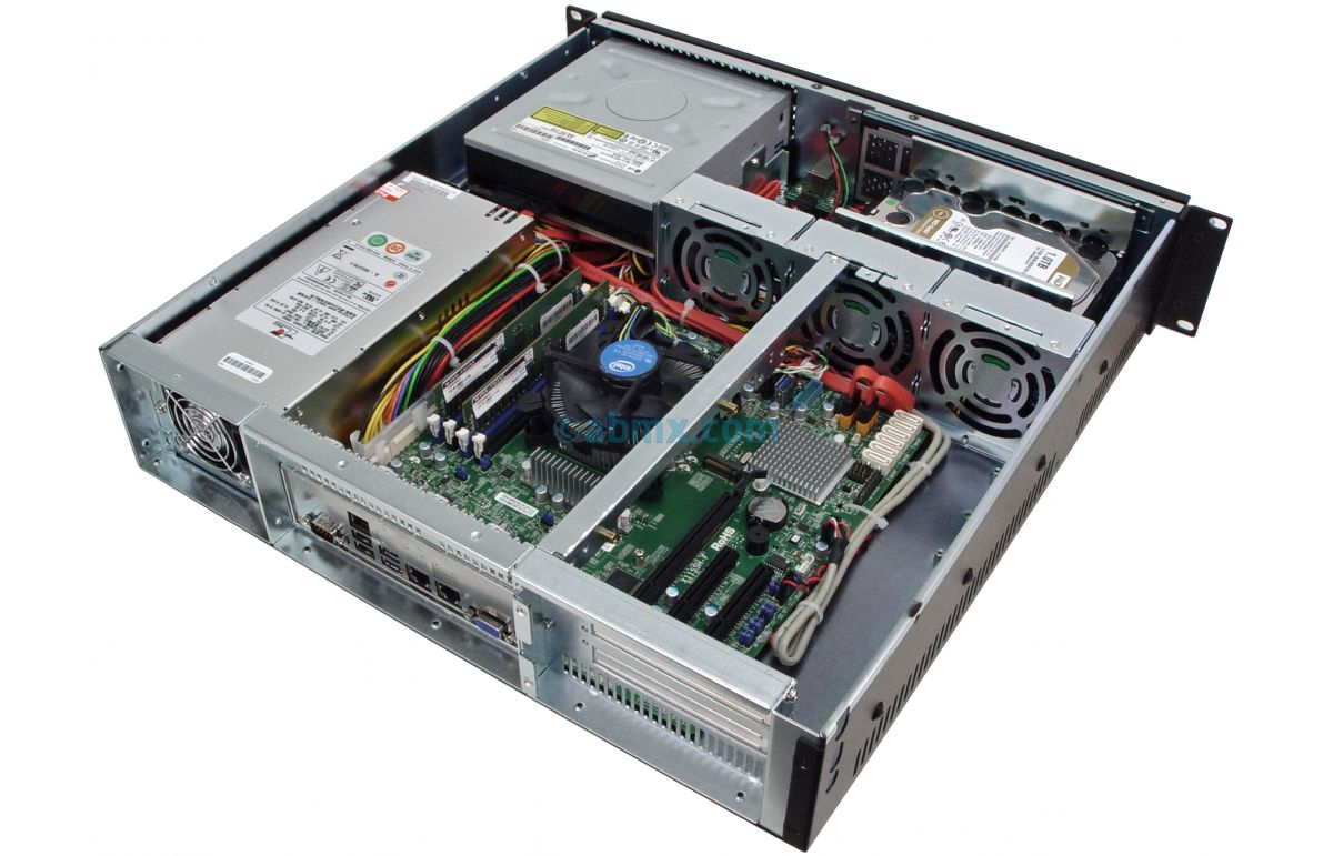 2U Mini Server - Up to 4 Fixed Bays-6