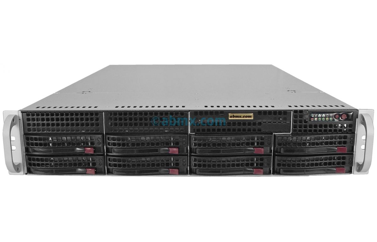 2U Rackmount Server - Intel Scalable - 8 Hot-Swap Bays-2