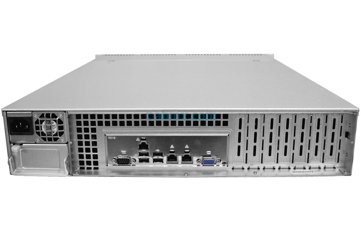 2U Rackmount Server - Intel Scalable - 8 Hot-Swap Bays-3