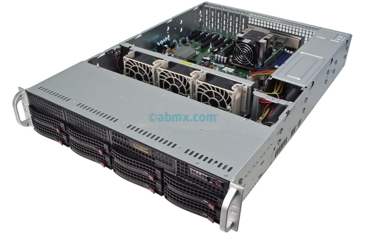 2U Rackmount Server - Intel Scalable - 8 Hot-Swap Bays-5