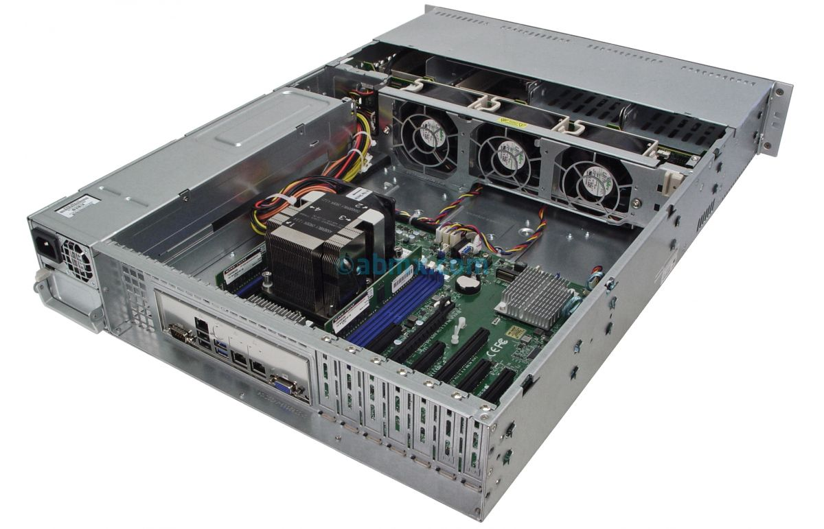 2U Rackmount Server - Intel Scalable - 8 Hot-Swap Bays-6
