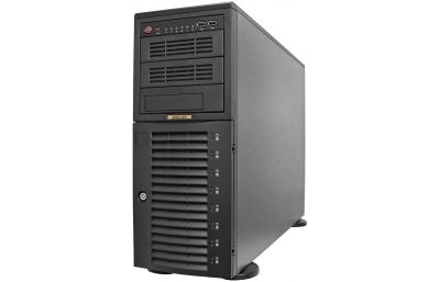 Workstation - Intel X-series - 8 hot-swap bays-front