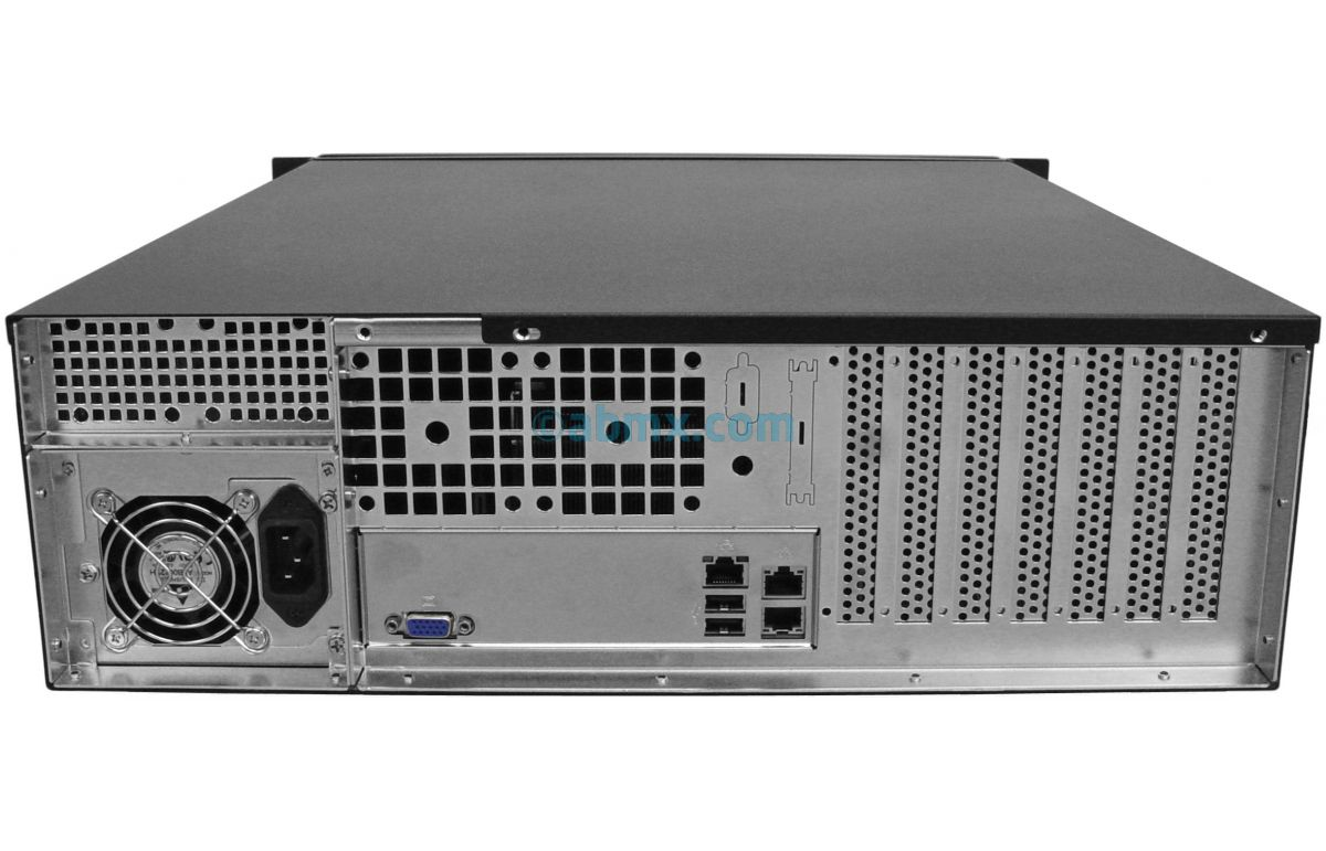 3U Rack Server - Dual Xeon Scalable - Up to 8 HDD-3