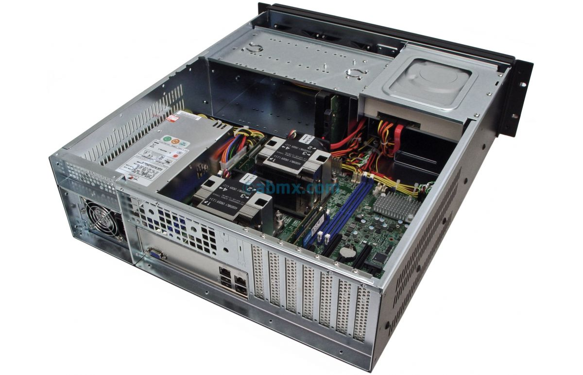 3U Rack Server - Dual Xeon Scalable - Up to 8 HDD-6