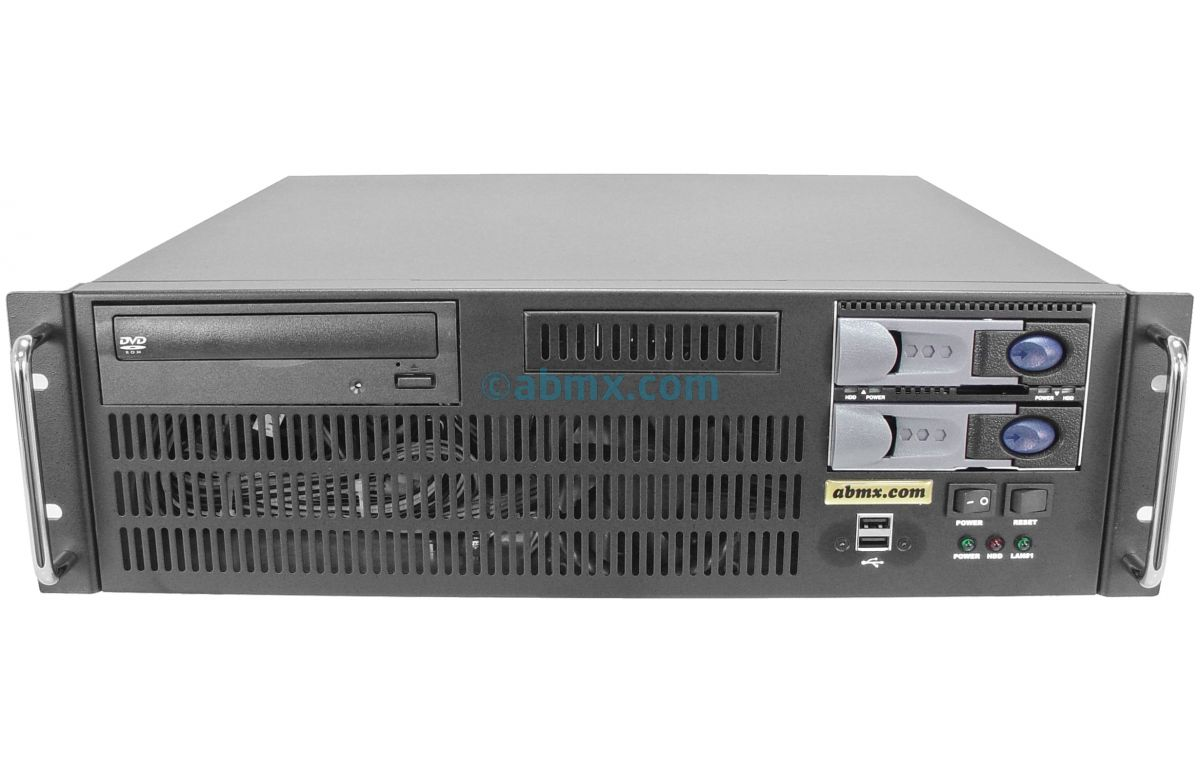 3U Short Depth Server - 2 Hot-swap - 24V DC Power-2