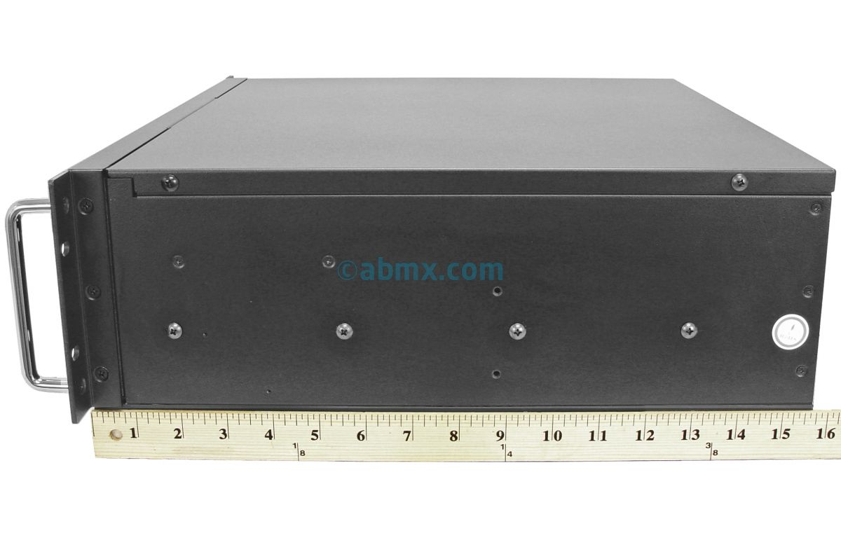 3U Short Depth Server - 2 Hot-swap - 24V DC Power-3