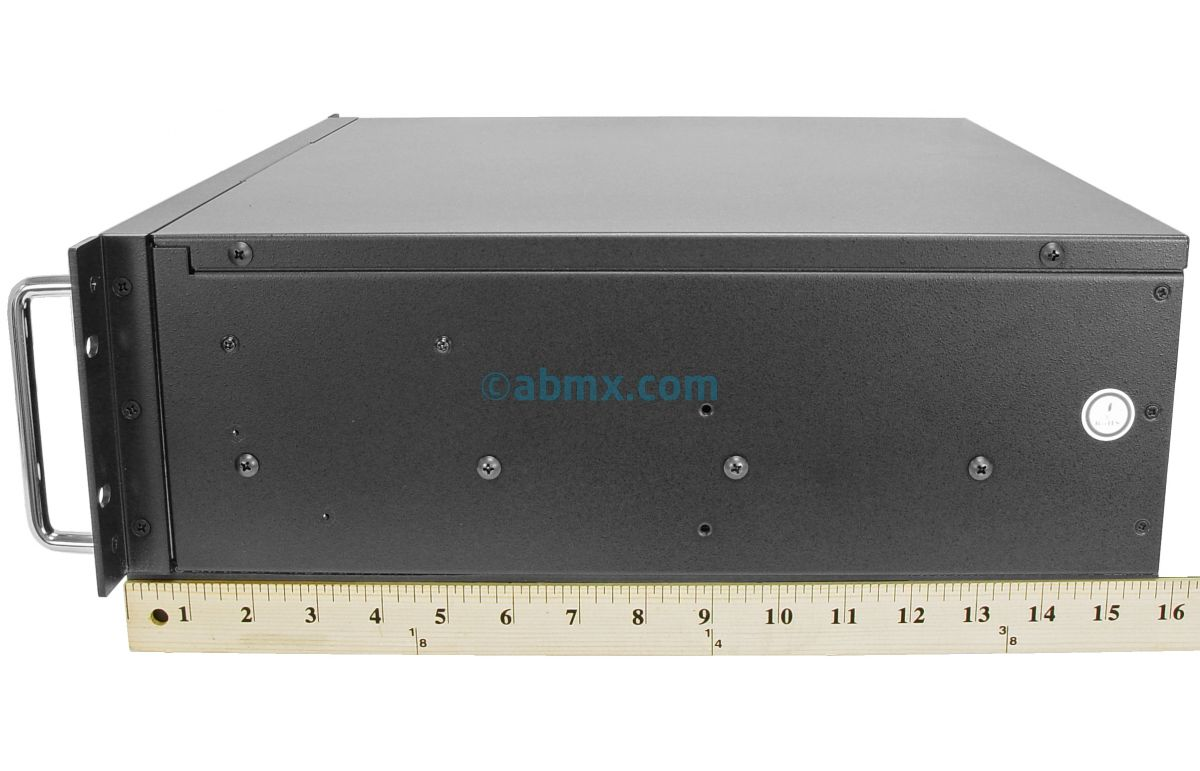 3U Short Depth Server - 24V DC Power-3