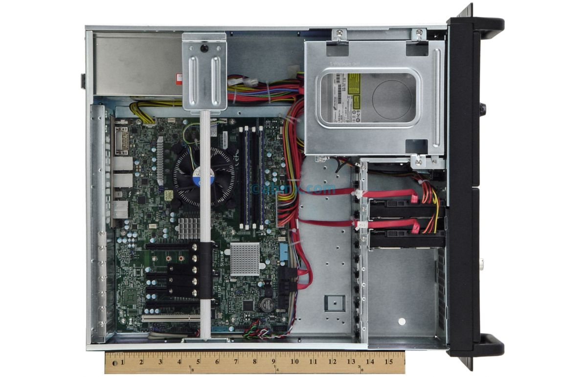 4U Rackmount Server - 24V DC Power-7