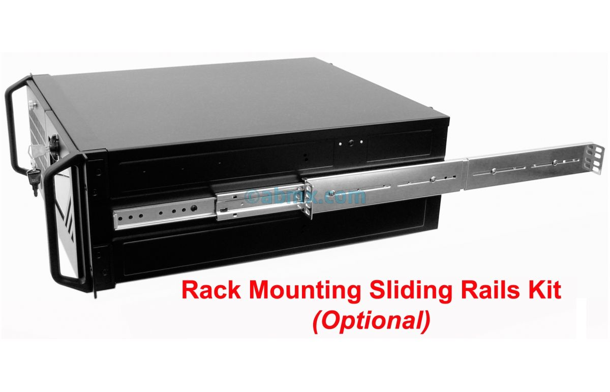 4U Rackmount Server - 24V DC Power-8