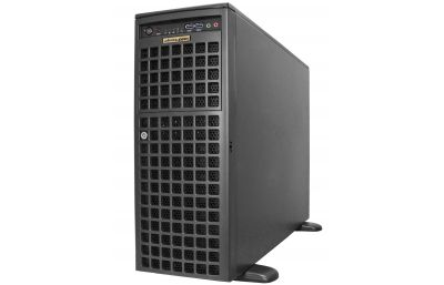 Tower Server - Dual Xeon Scalable - Redundant Power - Up to 11 PCI-e slots-front
