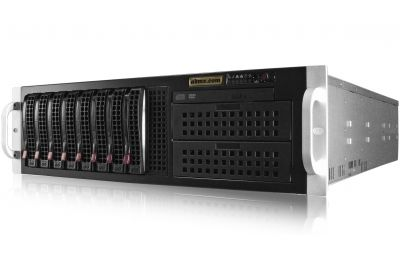 3U Rack Server - Xeon Scalable - Redundant Power-front