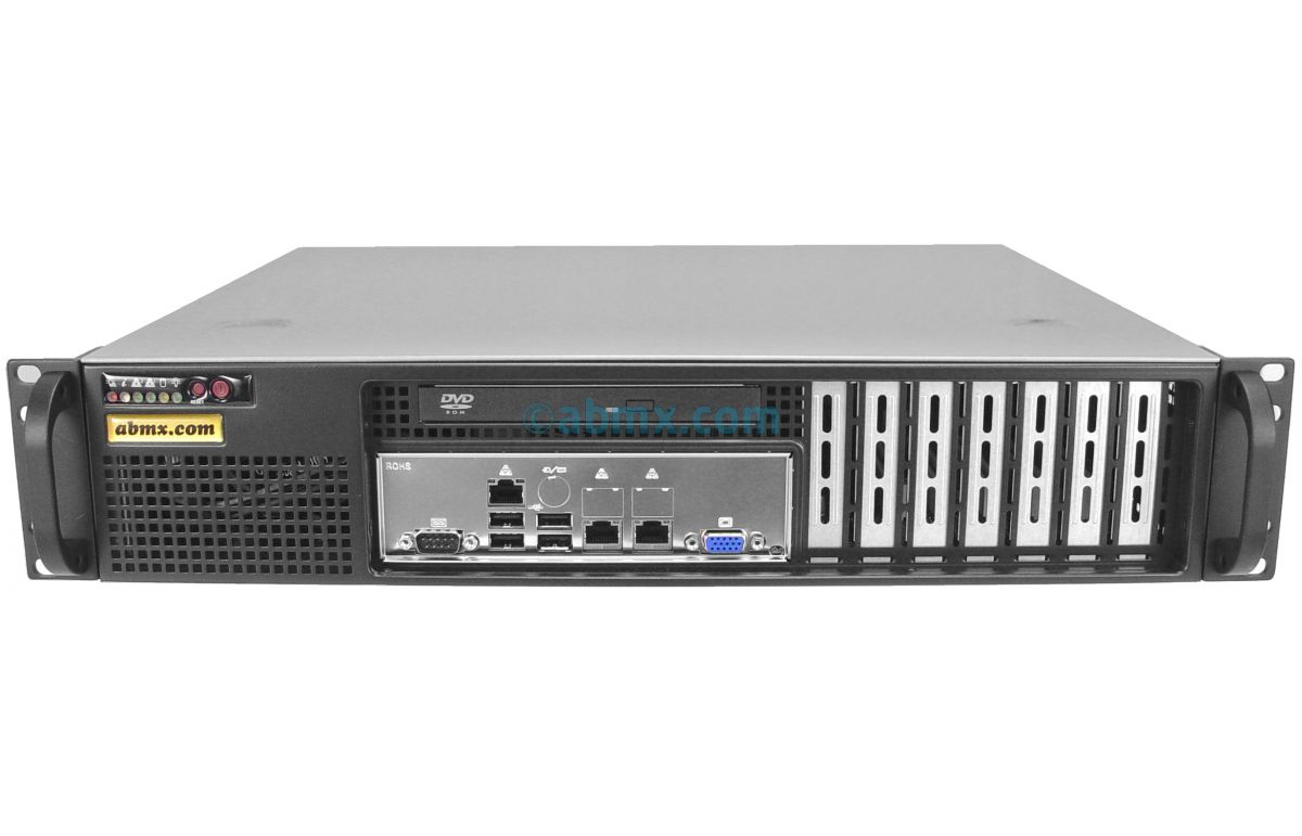 2U Short-Depth Server - Xeon Scalable - Front I/O-2
