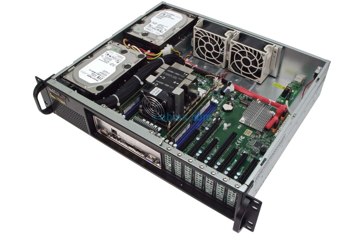 2U Short-Depth Server - Xeon Scalable - Front I/O-5