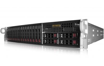 2U Rackmount Server - Dual Xeon Scalable - 20 Hot-swap Bays-front