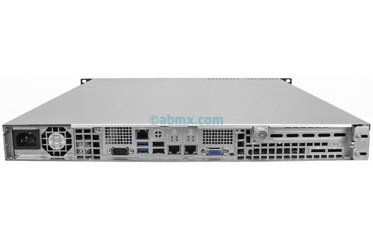 1U Rackmount Server - Xeon E - 4 x 2.5-inch Hot-swap Bays-3