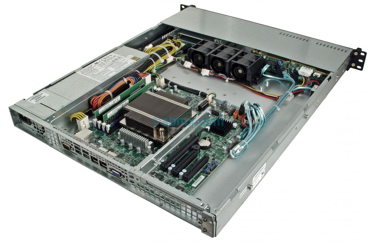 1U Rackmount Server - Xeon E - 4 x 2.5-inch Hot-swap Bays-6