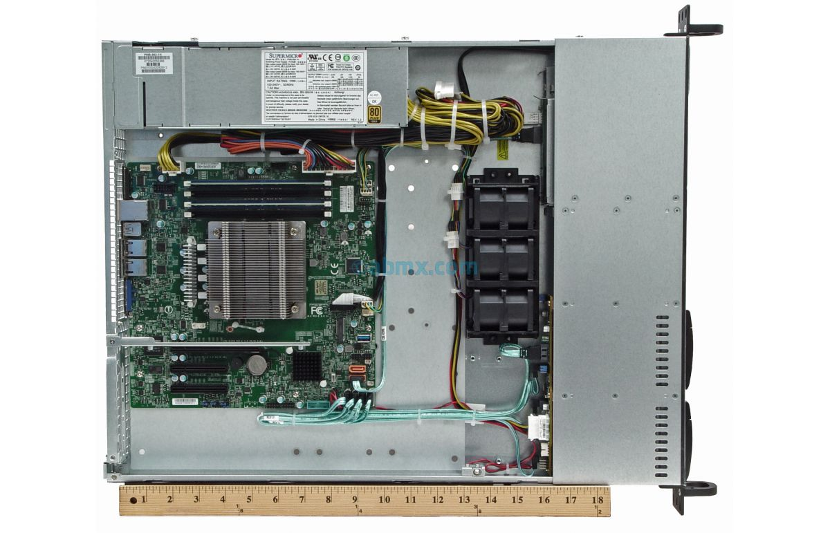 1U Rackmount Server - Xeon E - 4 x 2.5-inch Hot-swap Bays-7
