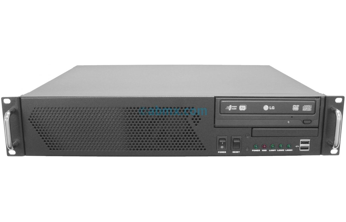 2U Mini Server - Xeon E - 2 Fixed Bays-2