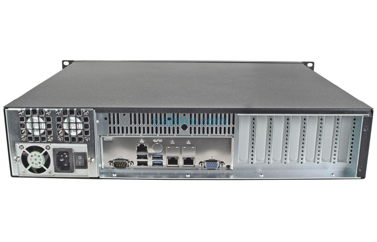 2U Mini Server - Xeon E - 2 Fixed Bays-3
