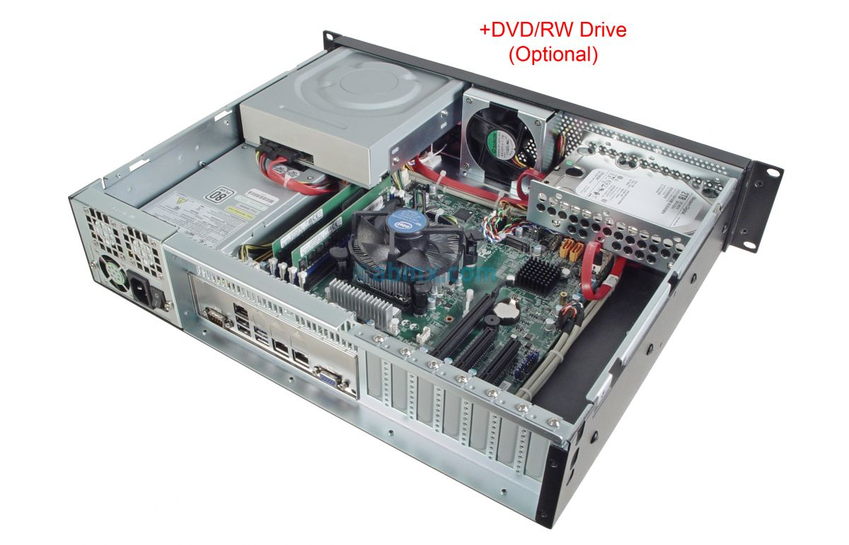 2U Mini Server - Xeon E - 2 Fixed Bays-6