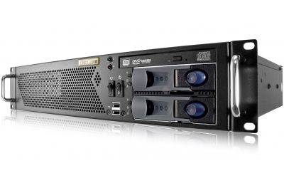 2U Mini Server - Xeon E - 2 Hot-swap Bays - 2 Fixed Bays-front
